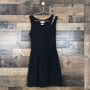 Opening ceremony Black cutout neckline Mini Dress